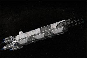raumschiff von oben